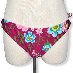 Agua Doce NWT Floral Swim Bottoms Medium